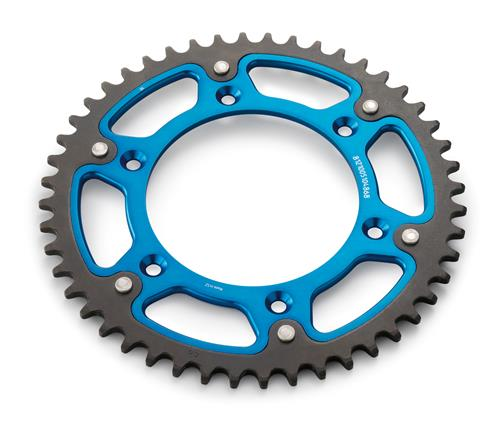 REAR SPROCKET BLUE Z/50